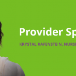 Provider Spotlight:Krystal Rafenstein, Family Nurse Practitioner | KCHC